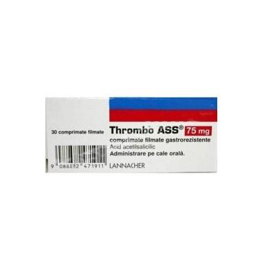 Thrombo Ass 75mg-cpr.film. x 30-Lannacher