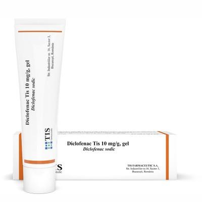 Tis Diclofenac 1% -gel x 50 g (W59888001)