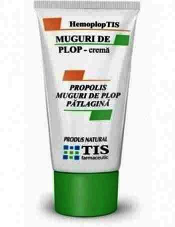 Tis Hemoploptis Crema Mugur de Plop x 50 ml