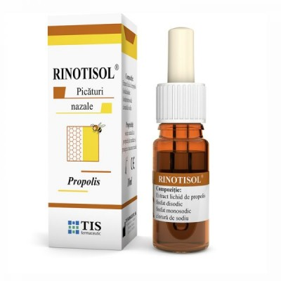 Tis Riniotisol Picaturi Nazale/Propolis