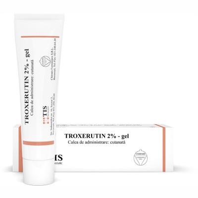 Tis Troxerutin 2% gel x 50g