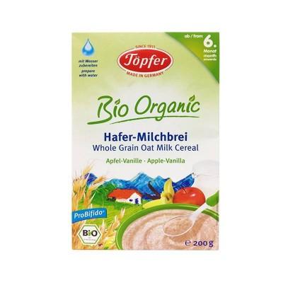 Topfer Cereale Ovaz + Lapte + Mere + Vanilie x 200g