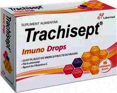 Trachisept Imuno Drops - cpr.supt. x 16 -Labormed