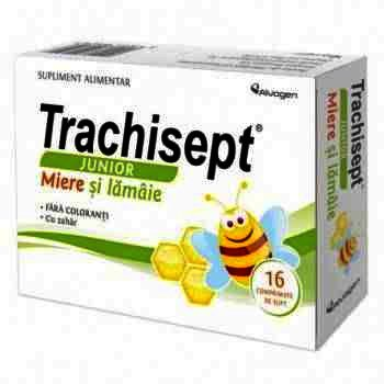 Trachisept Junior Miere si Lamaie -cpr. x 16 - Ozone