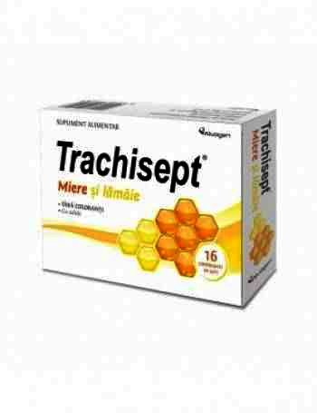 Trachisept Miere si Lamaie -cpr. x 16 - Ozone