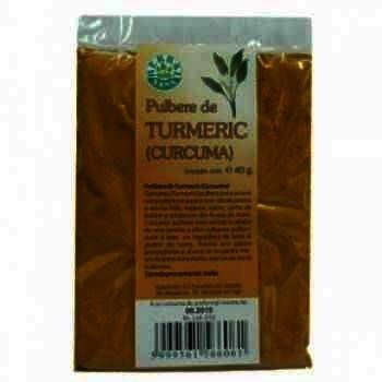 Turmeric (Curcuma) Pulbere x 100 g - Herbavit