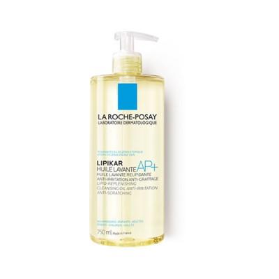 Ulei de spălare relipidant AP+ La Roche-Posay Lipikar, pentru pielea uscată cu tendință atopică, 750ml