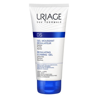 Uriage DS Gel Spumant Fata si Corp x 150ml
