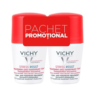 Vichy Bipack Deo Roll-On Stress Resist 72h x 50 ml