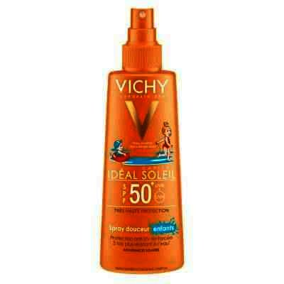 Ideal Soleil Spray Delicat Copii Extra Sensitive Spf 50+