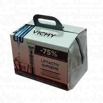 Vichy Liftactiv Supreme Crema Antirid Fermitate PS x 50 ml + Apa Termala Mineralizanta x 150 ml