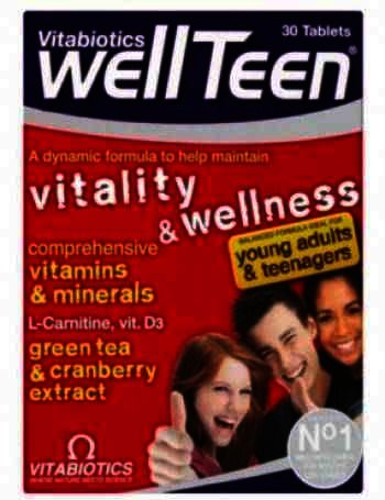 Vitabiotics WellTeen -cpr x 30