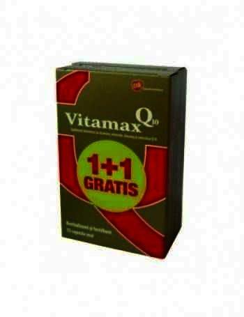 Vitamax Q10 -cps x 15 - GSK (1+50% Cadou)