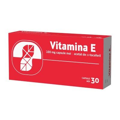 Vitamina E 100mg-cps.moi x 30-Biofarm