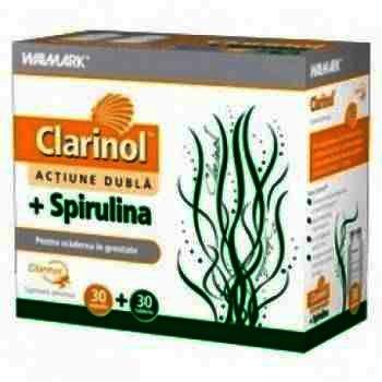 Walmark Clarinol 1000 mg -tb x 30 + Spirulina -cps x 30