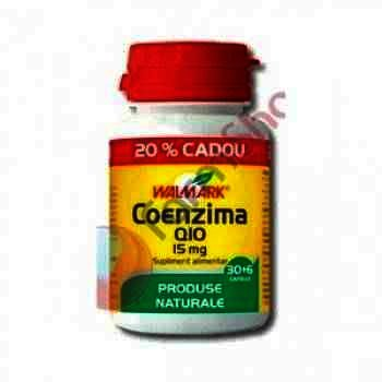 Walmark Coenzima Q10 15 mg -cps x 30
