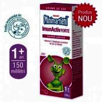 Walmark Minimartieni Imunactiv Forte Sirop x 150 ml