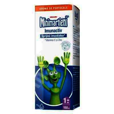 Walmark Minimartieni Imunactiv Portocale -sirop x 150 ml
