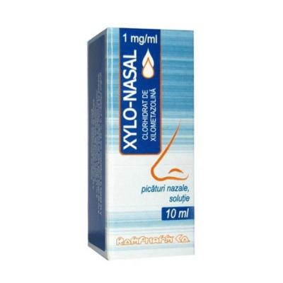 Xylo-Nasal 0,1% -sol.nazala x 10 ml - Rompharm