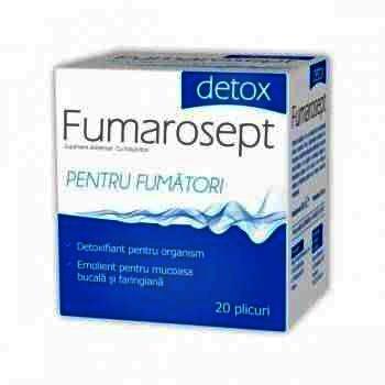 Zdrovit Fumarosept Detox - plc. x 20