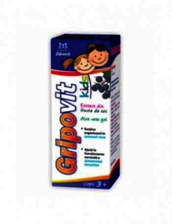 Zdrovit Gripovit Kids Sirop x 150 ml