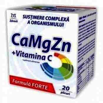 Zdrovit Mg 100 mg -cpr.eff. x 20