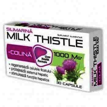 Zdrovit Milk Thisle Silimarina -cps x 30