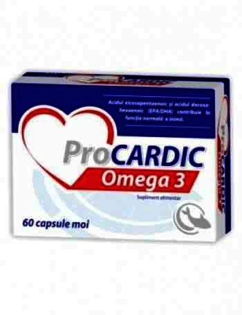 Zdrovit Procardic Omega 3 -cps x 60