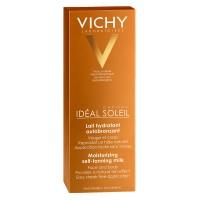 Vichy Ideal Soleil Lapte Hidratant Autobronzant Pentru Fata Si Corp 100 Ml