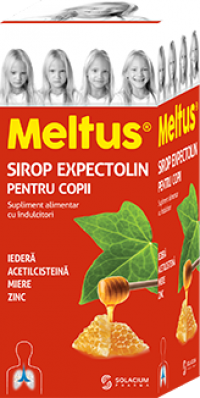 Meltus Expectolin Sirop Copii x 100 ml - Adya