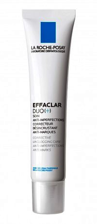Tratament corector anti-imperfecțiuni La Roche-Posay Effaclar DUO [+] cu efect anti-cicatrice, 40ml