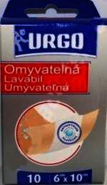 Urgo Lavabil Plasture 6cm/10cm x 10 buc
