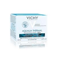 Vichy Aqualia Thermal Crema Rehidratanta Pentru Ten Uscat Si Foarte Uscat 50ml