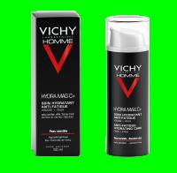 Vichy Homme Vichy Hydra Mag C Crema De Fata Hidratanta Cu Efect Anti Oboseala 50ml