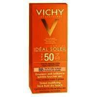 Emulsie De Fata Vichy Ideal Soleil Emulsie Matifianta Fata Bb Dry Touch Spf 50, 50ml