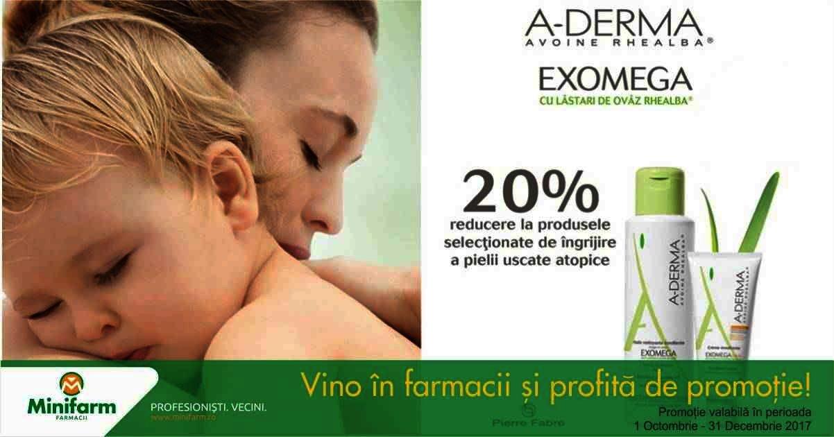 20% reducere pentru îngrijirea pielii uscate atopice