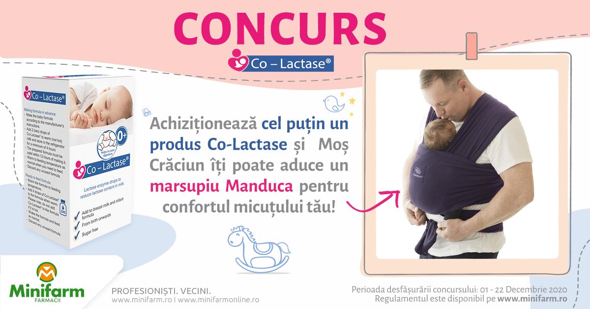 Castiga un Marsupiu Manduca pentru confortul micutului tau!