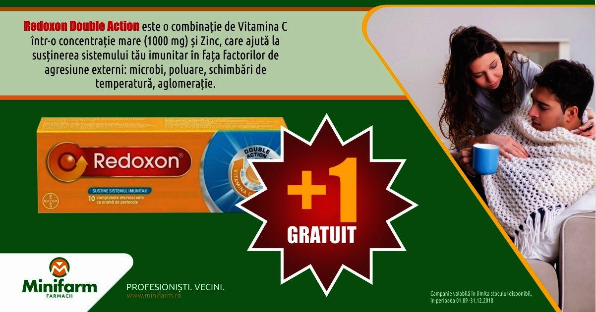 Redoxon Double Action - 1 plus 1 gratuit!